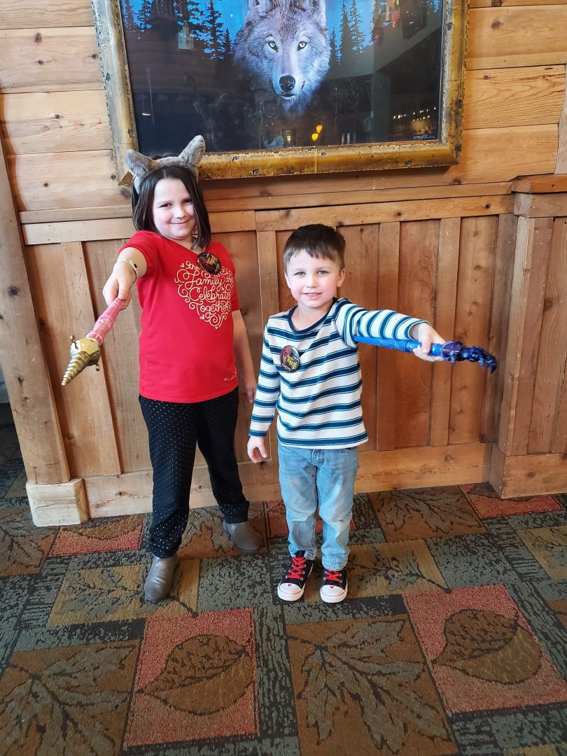 MagiQuest is a fun scavenger hunt at Great Wolf Lodge.