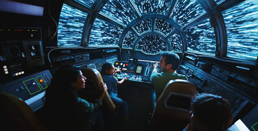 Star Wars Galaxy's Edge Millennium Falcon Ride