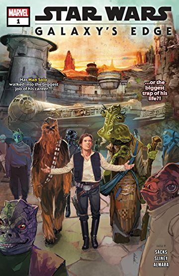 Star Wars: Galaxy's Edge Comic Book Series