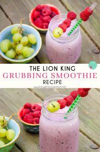 Kids Smoothie for The Lion King