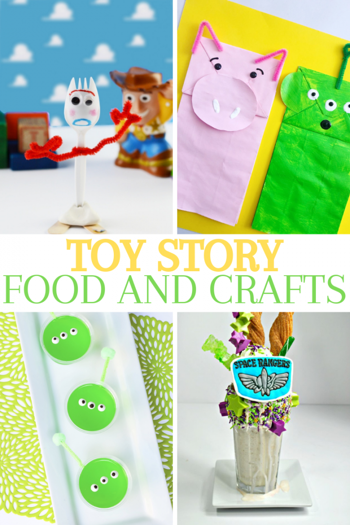 Toy Story Crafts and Food ideas for your next Toy Story movie night or Toy Story birthday party.