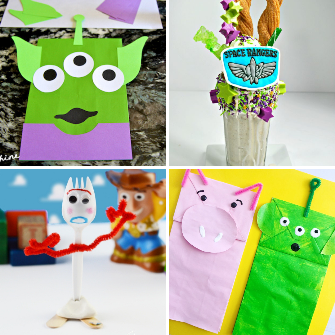 Toy Story Food and Crafts Ideas