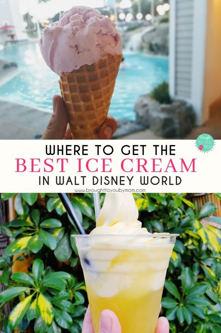 Ice cream at Walt Disney World is some of the most magical creations you will ever enjoy. From ice cream cones to decadent sundaes, here are some of the best places to get ice cream at Walt Disney World.