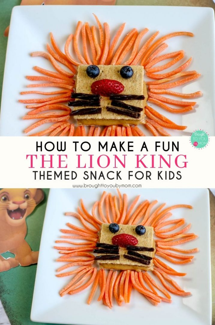 Lion King themed recipe