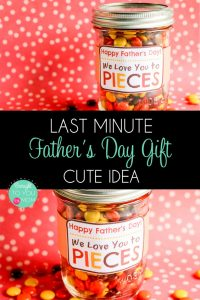 Last Minute Fathers Day DIY Gift