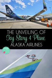 Toy Story 4 Plane Unveiling\