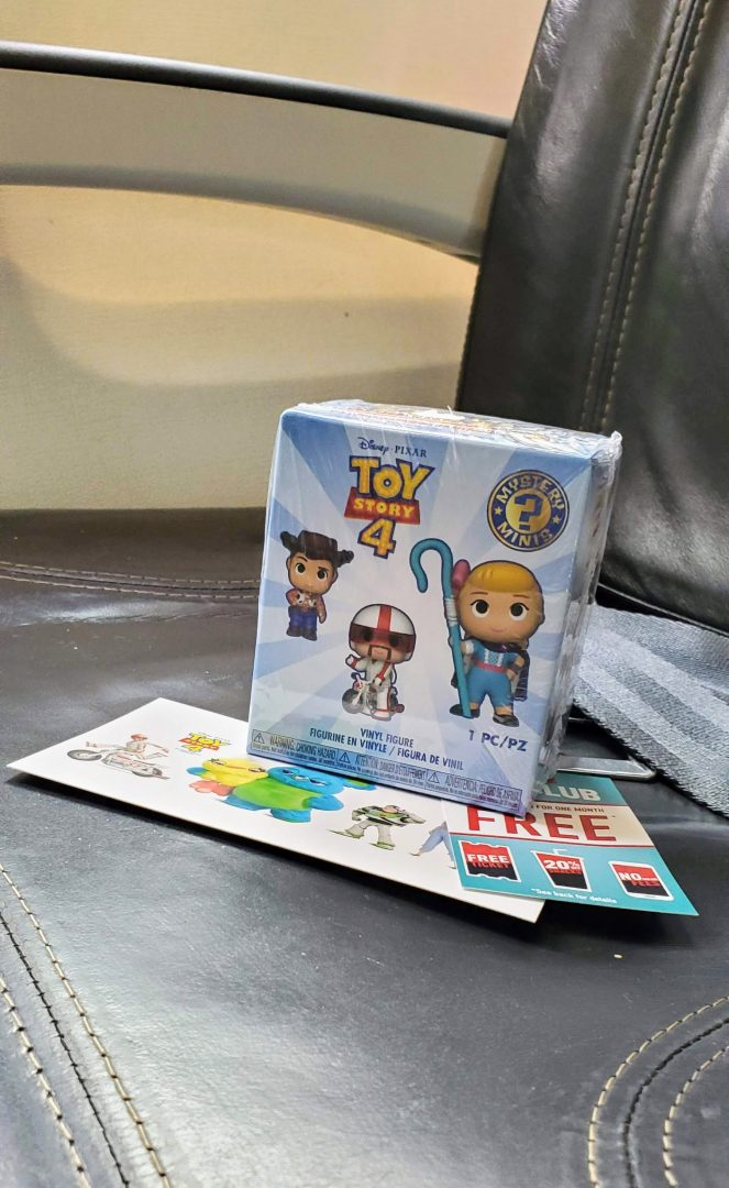 Toy Story 4 Plane Event Seattle