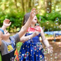 Summer Bubble Machine for Kids
