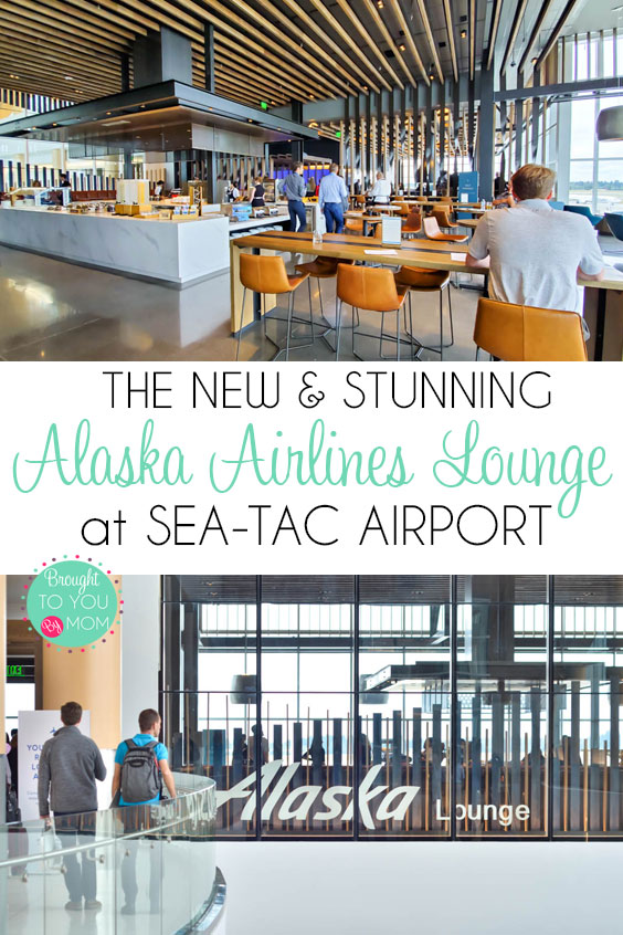 Stunning new Alaska Airlines Lounge at Sea-Tac Airport