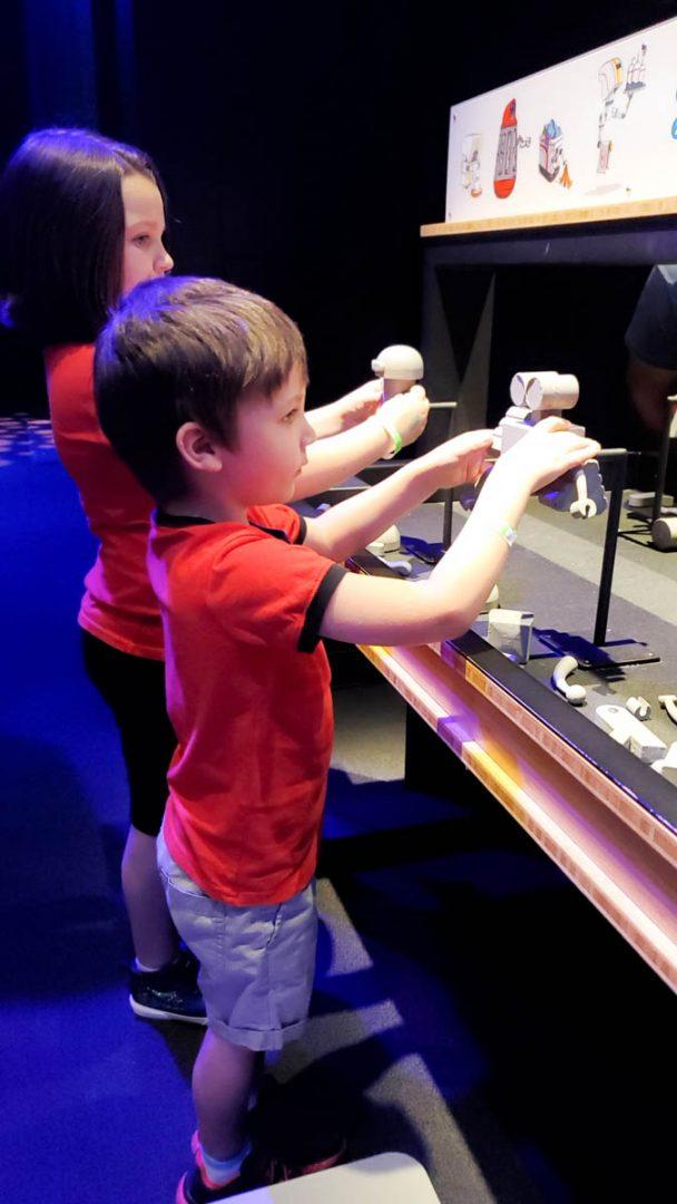 Science of Pixar Hands On Exhibit