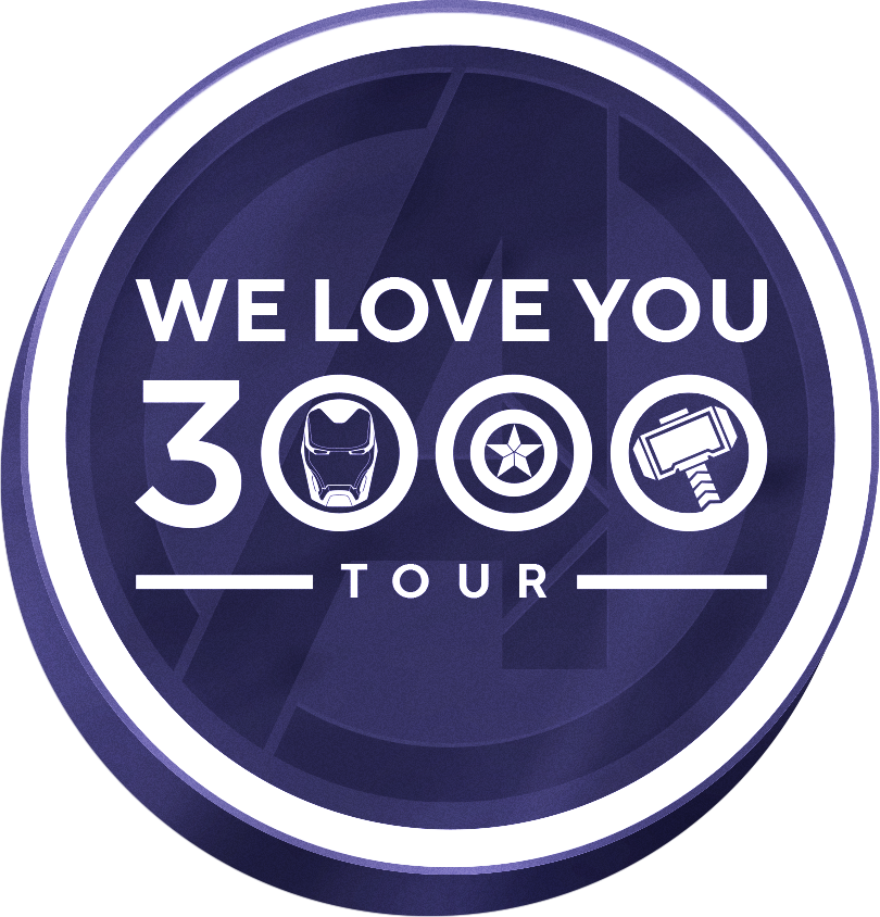 We Love You 3000 Tour Logo