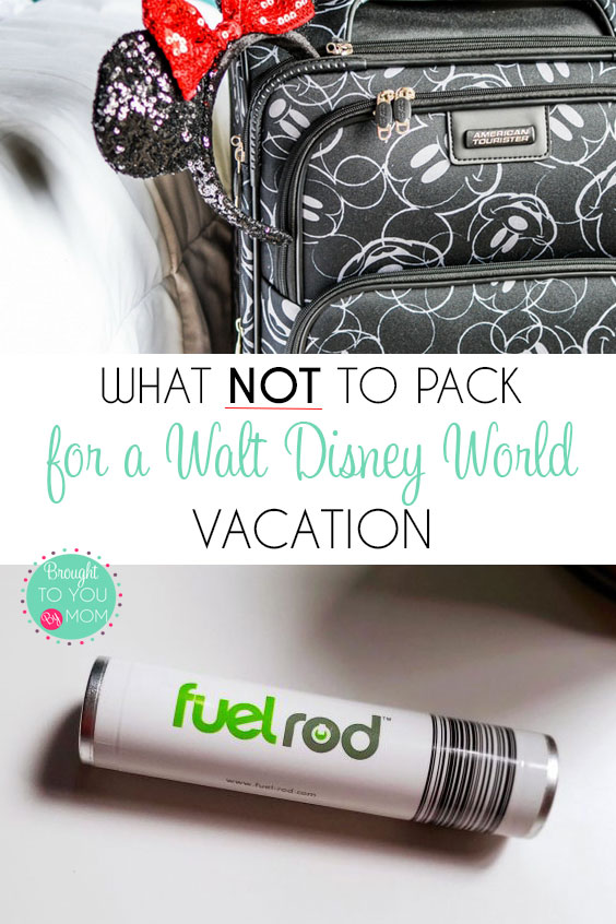 What Not to Pack for Walt Disney World