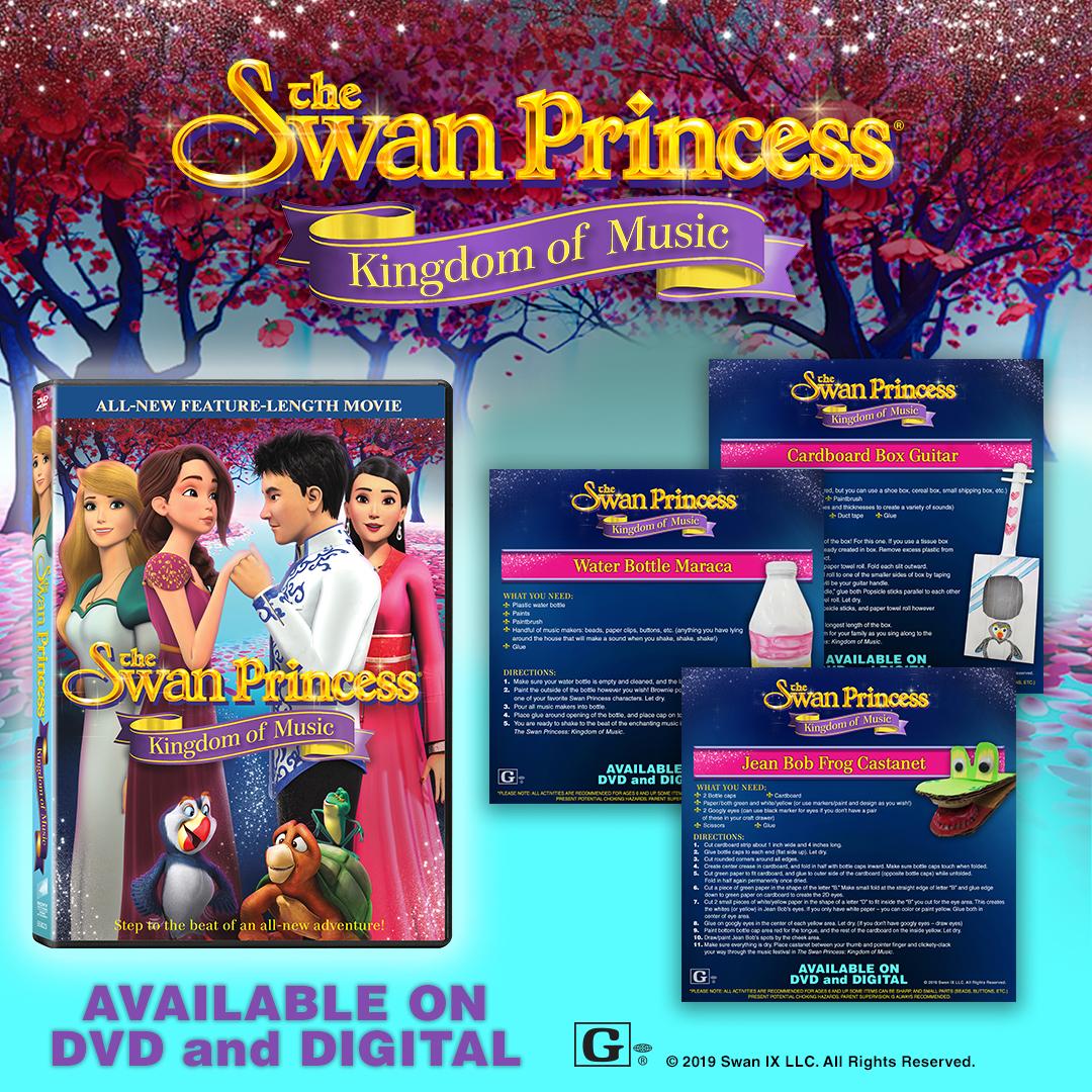 Swan Princess Kingdom of Music