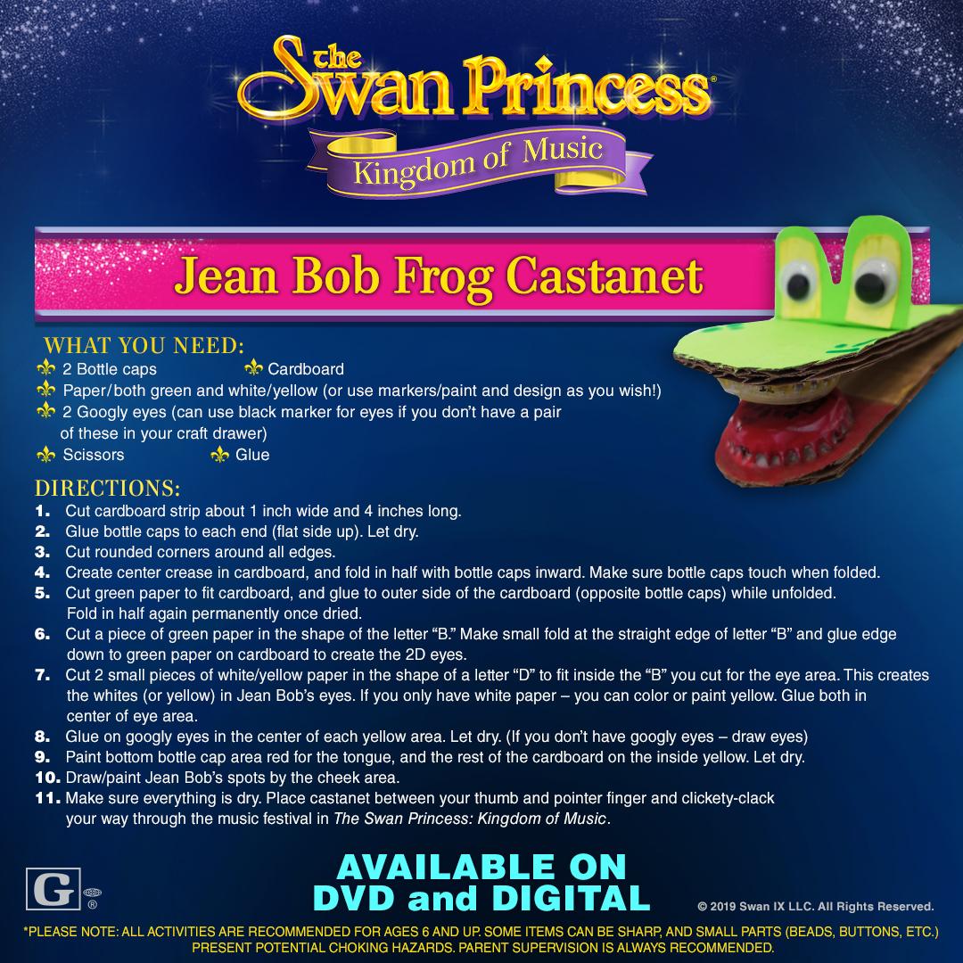 Swan Princess Craft