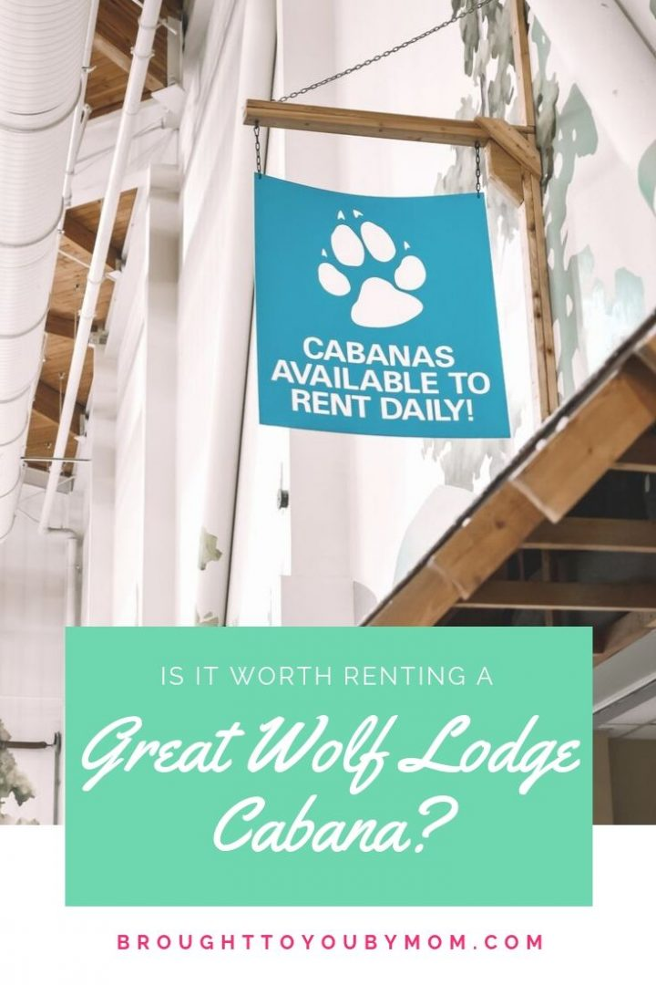 Great Wolf Lodge Cabana Rentals Tips